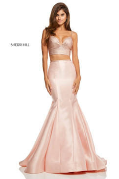 Sherri hill 52734 Two Piece Mermaid Dress