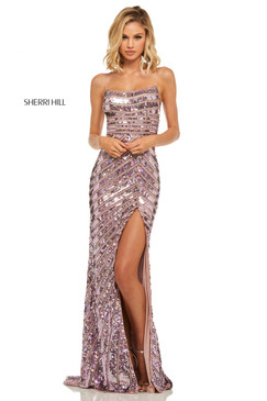 Sherri Hill 52558 Sequin Dress