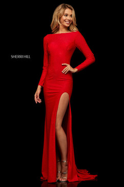 Sherri Hill 52791 Long Sleeve Dress