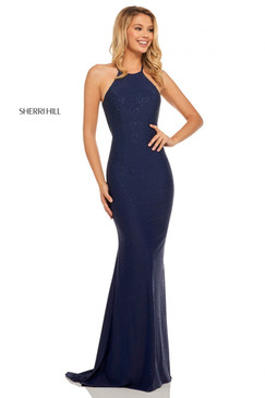 Sherri Hill 52792 Halter Dress