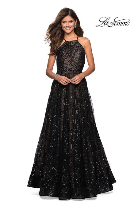 496cfcdc33b La Femme 27451 Dress
