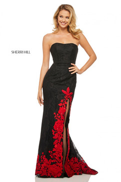 Sherri Hill 52876 Lace Dress