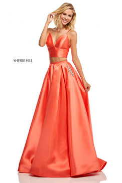 Sherri Hill 52598 Two Piece Ballgown Dress