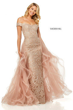 Sherri Hill 52556 Lace Dress