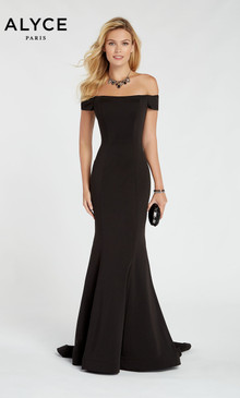 Alyce Paris 60294 Jersey Dress