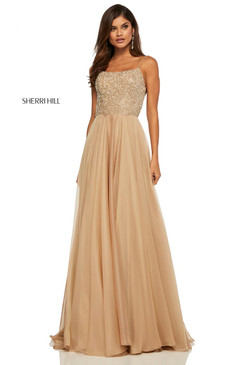 Sherri Hill 52591 Chiffon Dress
