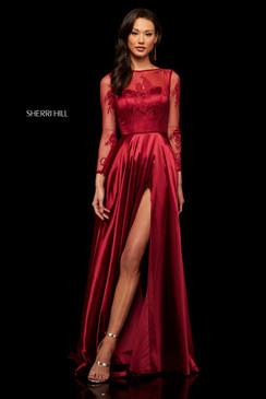 Sherri Hill 52765 Long Sleeve Dress