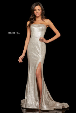 Sherri Hill 52954 Glitter Mermaid Dress