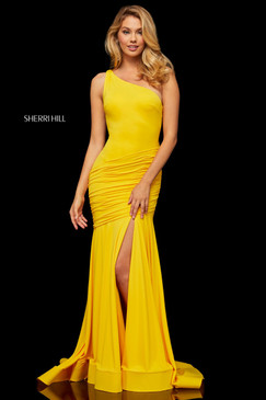 Sherri Hill 52902 One Shoulder Dress