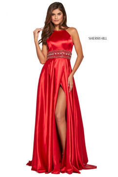Sherri Hill 53306 Satin Prom Dress