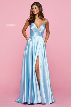 Sherri Hill 53299 Satin Dress