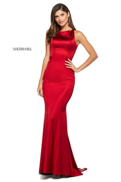 Sherri Hil 53392 Satin Dress