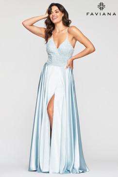 Faviana S10447 Flowy Dress