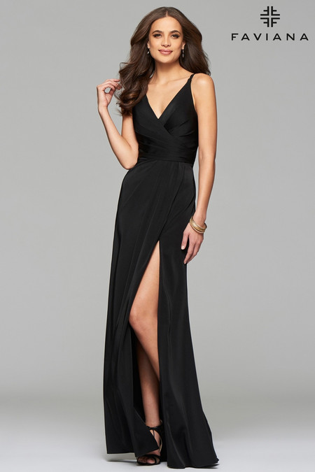 b2fcc8383f9 Faviana 7755E Plus Size Dress