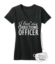 I Love My Correctional Officer Top