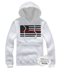 Thin Red Line American Flag Top