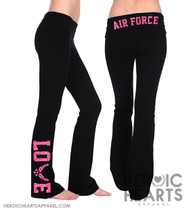 Air Force LOVE Yoga Pants