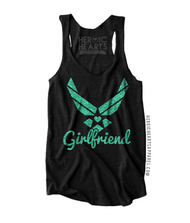 Air Force [Girlfriend] Heart Emblem Shirt