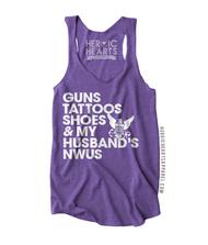 Guns Tattoos Shoes Shirt - Navy