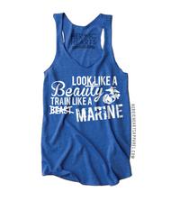 Look Like A Beauty Train Like A Marine Shirt