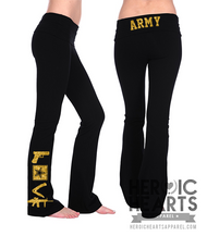 Army LOVE Weapons Yoga Pants