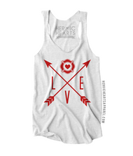 Firefighter Love Arrows Shirt