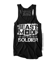Beast Mode to Keep Up With My Soldier Shirt