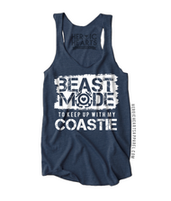 Beast Mode to Keep Up With My Coastie Shirt