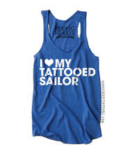 I Love My Tattooed Sailor Shirt