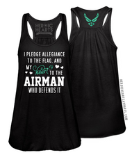 Pledge Allegiance Shirt - Air Force