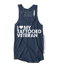 I Love My Tattooed Veteran Shirt