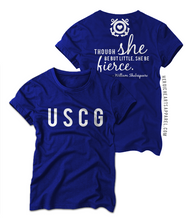 Though She Be Little Shirt - USCG