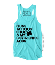 Guns Tattoos Shoes Shirt - National Guard