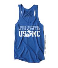 Proudly Supporting My Hero USMC Shirt
