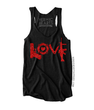LOVE Weapons Firefighter Top