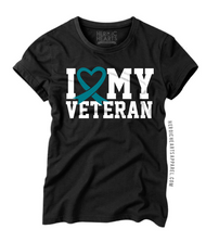 I Love My Veteran PTSD Awareness Shirt