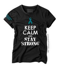 Keep Calm And Stay Strong PTSD Awareness Shirt