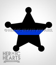5pt Star Badge TBL Decal