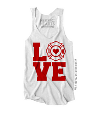 Firefighter Love Square Shirt