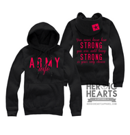 You Never Know How Strong Army Hoodie