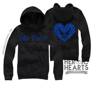 Air Force Heart Emblem Shirt