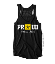 Proud Army Mom Star Top
