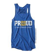 Proud Coast Guard Sister Emblem Top