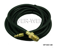Power Cable Hose For WP18 TIG Welding Torch 25 Feet 7.5M Miller Type & 5/8-18