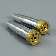 2pcs Propane Natural Gas Cutting Tip 6290NX-1 For Harris Torch