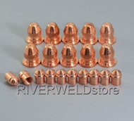 21597 Plasma Tip 100A 21595 Plasma Electrode Fit PT-25 Plasma Cutting Torch 20pcs