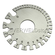 Round Wire Gauge Diameter Gage Welding Inspection Gauges