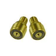 "45V43 1/16"" 1.6mm TIG Gas Lens Collet Body For SR DB WP 9 20 24 25 TIG Welding Torch 2pk"