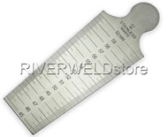 Welding Gauge Taper Gage Both Inch & Metric 45-60mm Welding Inspection