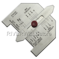 Inch Automatic weld size welding gauge Stainless steel